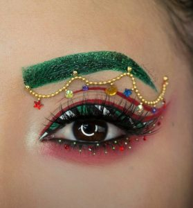 Santa Hat and Christmas Makeup Trends \u2013 Fontana Beauty Vibes